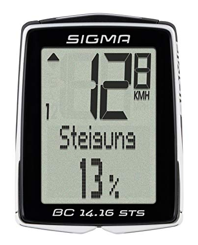 Sigma 01418 Ciclocomputador, Negro, Talla Única