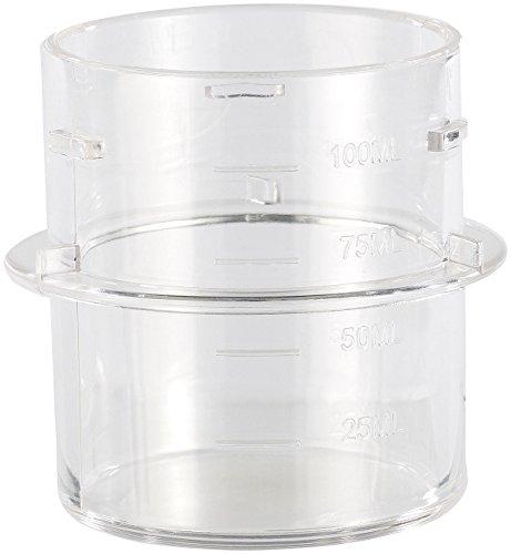 Rosenstein & Söhne Zubehör zu Thermo-Küchenmaschine: Ersatz-Messbecher für Küchenmaschine KM-2513 V3 (Multi Küchenmaschine)