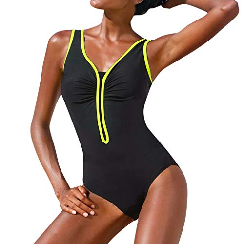 Poachers Traje de baño Mujer Tallas Grandes Sexy bañadores de Mujer reductores Traje de baño Mujer una Pieza Vintage Bikinis Mujer 2019 Push up brasileño bañador Natacion Mujer Profesional