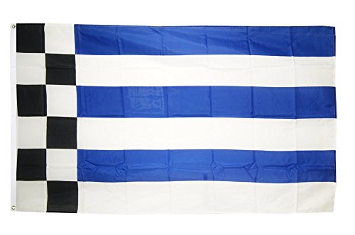 Fahne / Flagge Deutschland Stadt Norderney + gratis Sticker, Flaggenfritze®