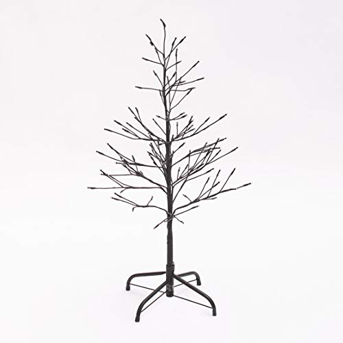 The Lakeside Collection 3 Foot Tall Outdoor Lighted Christmas Twig Tree with Timer Unit