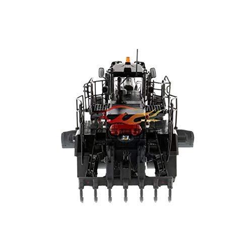 Technisches Fahrzeug CAT 1/50 18M3 Legierung Selbstfahrender Grader Schwarz Sonderausführung 85522 Modell eines technischen Druckgussfahrzeugs