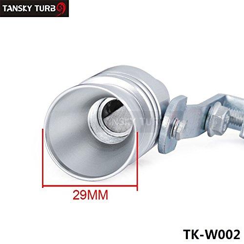 tansky–tamaño L Turbo sonido silbato BOV Simulador Blow Off Silenciador Tubo De Escape Punta tk-w002(1pc)