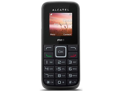 Prepaid Handy Alcatel 1010 + otelo 9 Cent (Basis-Tarif) SIM Karte 5 Euro Startguthaben D2 (Vodafone)