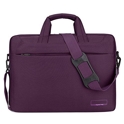 NYDZDM Mannen Vrouwen Laptop Schoudertas Zakelijke Notebook PC Messenger Bag Werk Aktetas Sleeve Case Crossbody Bag voor Laptop Ultrabook Computer