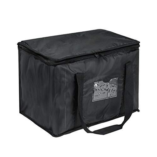 GJCrafts Sac Livraison Isotherme Nourriture 28 L, Imperméable, Tissu Oxford, Sac à DéJeuner Isotherme Pliable Pour Camping, Voyage, Pique-Nique