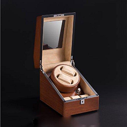 Automatische Horloge Winder Box Boomschors Patroon 2+3 Houten Shaker Mechanische Horloge Automatische Horloge Doos Elektrische Horloge Doos