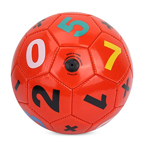 SOONHUA Plastikfußball Kinder Outdoor-Sport Fußball Fußball Größe 2 Übungssportgeräte für Indoor Outdoor Schule Geburtstag Wohltätigkeitsstände