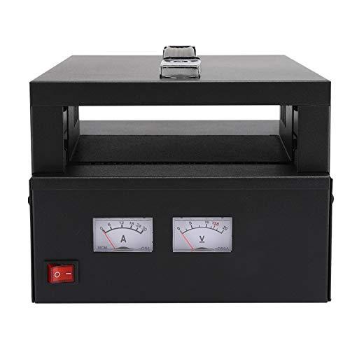 Demeras Fuente de alimentación portátil para Radio de Coche AC 110-220 Entrada 13,8 V Salida Caja de Fuente de alimentación sellada Compatible con KT868 / FT7900(UE)