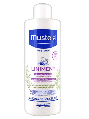 Mustela Liniment Diaper Change Cleanser 400ml