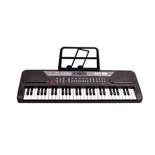 Digitale piano Kinderen Beginner Keyboard 3-6 Years Old Music Training Verjaardag Gift Toy Instrument Entry Piano met microfoon (Kleur: Roze, Maat: Verbeterde versie)