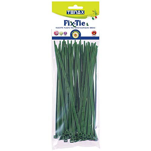 Tenax Attache de câble Fix-Tie L Vert 1 x 0,1 x 20 cm 30010201