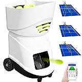 VEVOR Máquina de Pelota para Tenis Portátil Servicio Ligero de Pelota para Tenis Maquina para Tenis Adecuado para Profesionalesy Principiantes