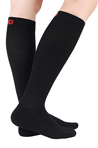 +MD 3 Pairs Bamboo Compression Socks