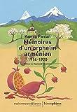 Mémoires d'un orphelin arménien (1914-1920)