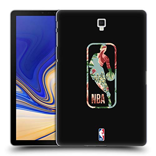 Head Case Designs Ufficiale NBA Floreale 2019/20 Logoman Cover Dura per Parte Posteriore Compatibile con Galaxy Tab S4 10.5 (2018)