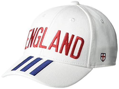 adidas Cf Baseball Cap England Baseball Caps, White/Team Navy Blue/Team Power Red, OSF