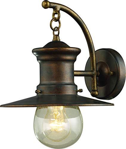 Interfan Vintage wandlamp, bruin