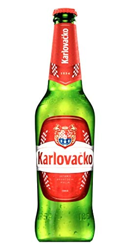 12 Flaschen Karlovacko Pivo Bier aus Kroatien