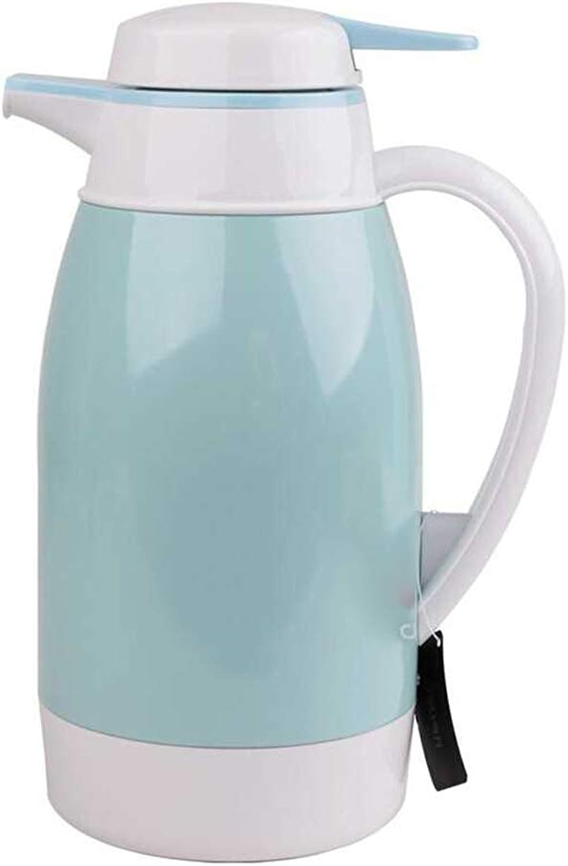 Mugs isotherme Pot D'isolation, Ménage Liner En Verre Grande Capacité Thermos Résistant à L'usure Et Aux Fuites Prougeection Contre L'environneHommest Et La Santé 1.6L V2