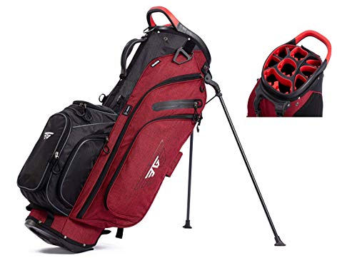 EG EAGOLE 14+1 Way Organized Top Golf Stand Bag (Red)