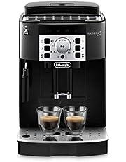 De'Longhi Magnifica S ECAM 22.110.B Kaffeevollautomat mit Milchaufschäumdüse für Cappuccino, Direktwahltasten für Espresso und Kaffee, 2-Tassen-Funktion, 1,8 Liter Wassertank, schwarz/silber