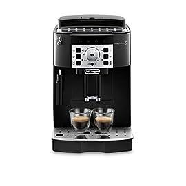 De'Longhi Magnifica S, Automatic Bean to Cup Coffee Machine, Espresso and Cappuccino Maker, ECAM22.110.B, Black [Amazon…