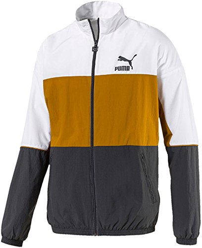 PUMA Herren Trainingjacke Retro Woven Track Jacket