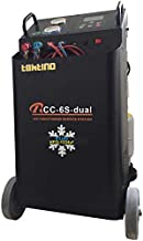 Tektino RCC-6S-Dual Twin-Cylinder Refrigerant Recovery, Recycling and Recharging Machine for Both R134a and R1234yf, Air Conditioning A/C Service Station One Machine