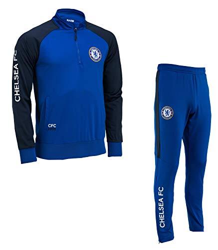 Chelsea FC Chándal Training fit Colección Oficial - Talla niño