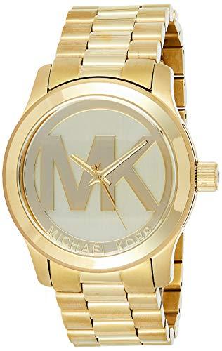 Michael Kors MK5473 Women's Runway Gold Plated Stainless Steel Watch