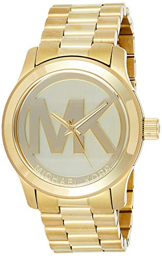 Michael Kors Women's Runway Gold-Tone Watch MK5473