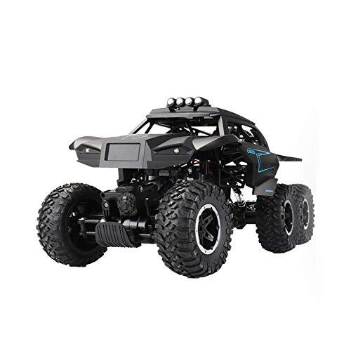 Moerc RC Car 4WD 2,4 GHz Climbing Car 6x6 Doppel Motors Big Foot Auto-Fernsteuerungsmodell Geländewagen Spielzeug 01.12 Skala Rc Racing Cars High-Speed-Buggy Wiederaufladbare Jungen Outdoor-Spielzeug