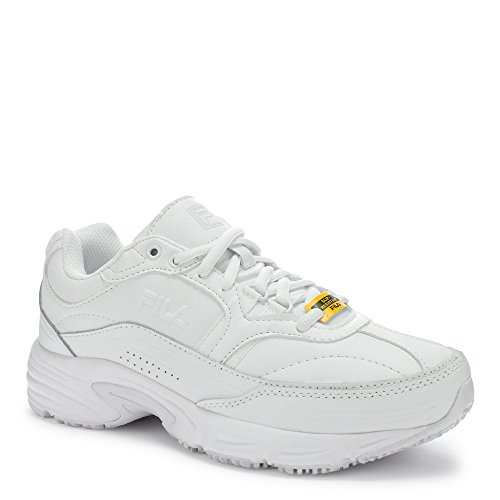 Fila Women's Memory Workshift Cross-Training Shoe,White/White/White,7 M US