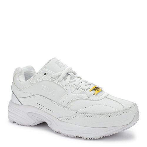 Fila Memory Workshift Femmes Blanc Cuir Chaussures Bottes Neuf EU 40