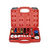 A ABIGAIL Master Quick Disconnect Tool Kit 22 pcs for Automotive AC Fuel Line and Transmis...