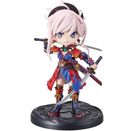 Figura de acción LBBD Petitrits Miyamoto Musashi Fate/Grand Order FGO con una exquisita caja