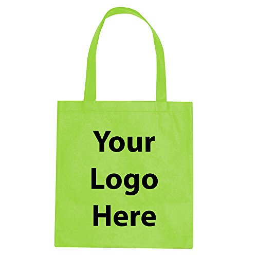 "Promotional Tote Bag - 150 Quantity - $1.30 Each - Promotional Product/Bulk with Your Logo/Customized. Size: 15""W x 16""H 24"" Handles."