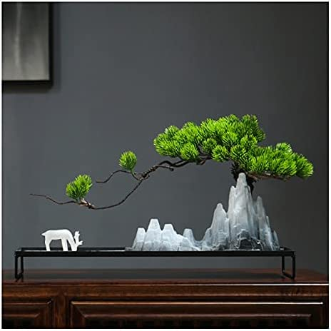 liushop Simulation Tree Save Memphis Mall money Bonsai Artificial Landscape