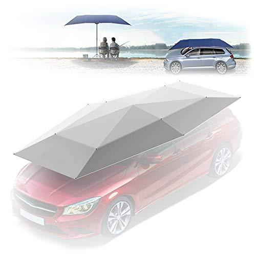 \t Paraguas De Coche,Sombrilla para Coche para Opel All Models, ProteccióN Solar para Todo El Coche, ProteccióN UV con Fuertes Ventosas De SuccióN Y Soporte