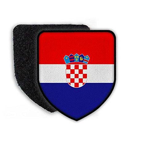 Copytec Patch Landespatch Kroatien Zagreb Wappen Flagge Landeszeichen Plenkovic Heimat Stolz Landesflagge#21942