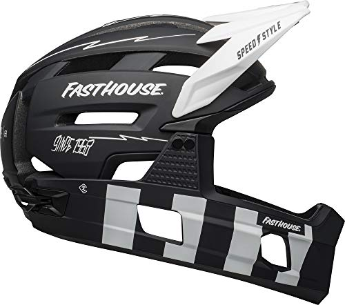 BELL Super Air, Casco Uomo, Fasthouse Matte Black White, S