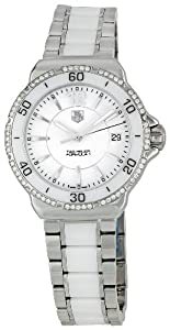 TAG Heuer Women's WAH1213.BA0861 Formula 1 White Dial Watch Reviews and Online and review