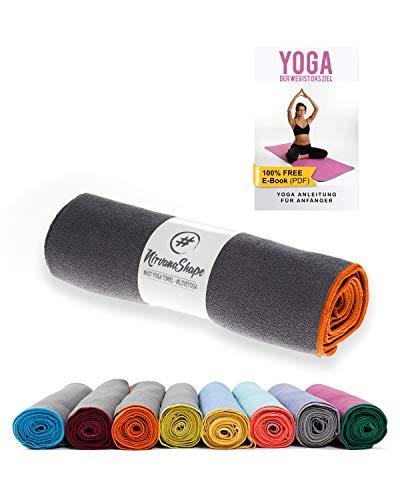 NirvanaShape ® Toalla de Yoga Antideslizante   Toalla de Hot Yoga con Botones Antideslizantes  ...