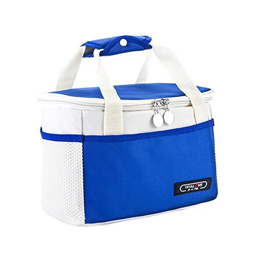 Sac repas Lunch Tote Sac isotherme Glaci/ère Sac de pique-nique sac d/éjeuner sac go/ûter sac /à d/éjeuner pour travail /école enfants Taille unique bleu