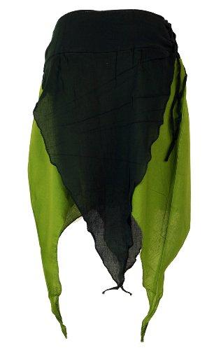 Zipfelrock Elfen Rock / kurze Röcke, alternative Bekleidung von Guru-Shop - 3