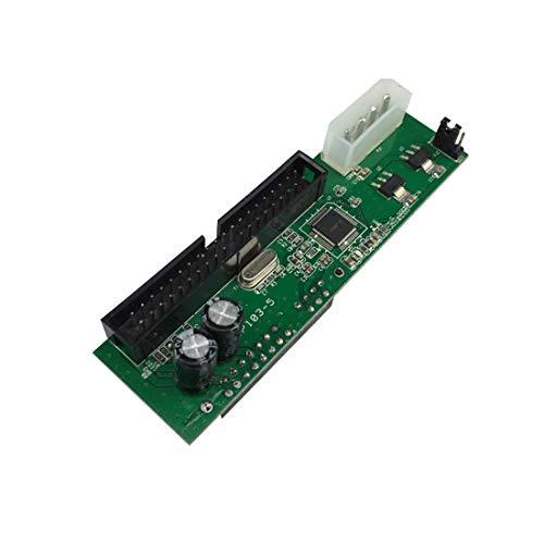 ZJF Componentes de la computadora Accesorios eléctrico ATA a SATA Pata a SATA DVD Cobertura SATA a IDE Tarjeta de Dos vías para RPI