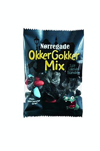 15x NØRREGADE OKKER GOKKER MIX 310g Incl. Goodie von Flensburger Handel