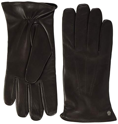 Roeckl Herren Klassiker Wolle Handschuhe, Braun (Coffee 780), 9