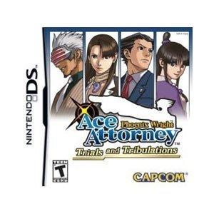 Phoenix Wright: Ace Attorney - Trials and Tribulations (Nintendo DS) - Game [Importación Inglesa]